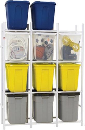Bin Warehouse DFAE2MBW-12TC Compact Storage System - Bin Warehouse Tote Storage Systems – Get Decluttered Now!