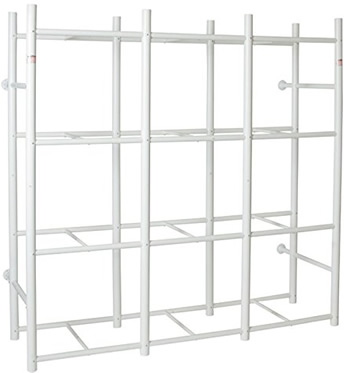 Bin Warehouse DFAE2MBW0431 Tote Storage System for 12 Totes - Bin Warehouse Tote Storage Systems – Get Decluttered Now!