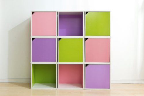 Iris USA BAKU Modular Wood Cube Boxes are available in a variety of colors with or without doors. - Iris USA Brights: Wood Shelves, Bins and Cubes - Get Decluttered Now!
