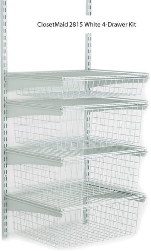 ClosetMaid 4-Drawer Kit - Get Decluttered Now!