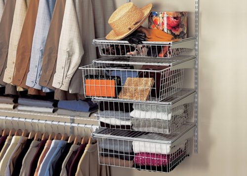 ClosetMaid 4-Drawer Kit in Nickel finish - ClosetMaid 4-Drawer Kit - Get Decluttered Now!