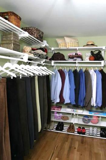EZ Shelf Expandable Closet Organizer System