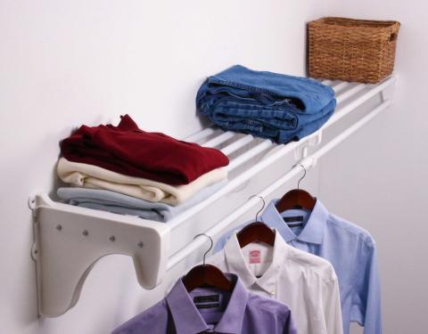 EZ Shelf Closet Shelf and Rod