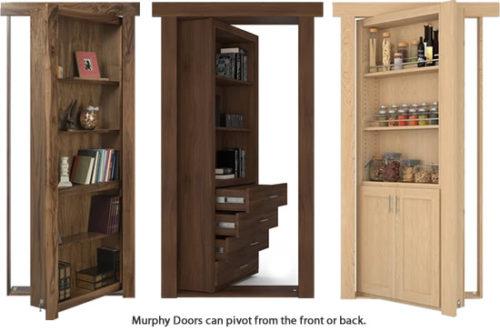 """Murphy Doors fit into a standard door opening up to 36"""" wide."""