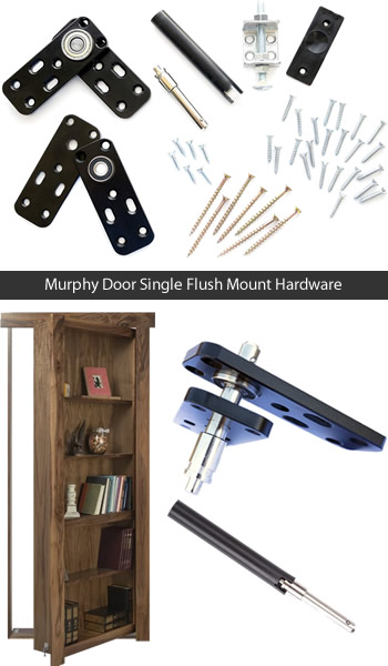 Murphy Door Hinges support up to 300 pounds and still swings open and closed easily.