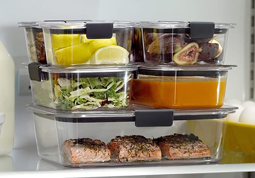 Rubbermaid Fridge Storage Containers