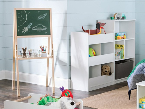 ClosetMaid 1619 KidSpace Art Easel ClosetMaid KidSpace 1495 Room Divider Open Storage Unit ClosetMaid KidSpace 1497 Horizontal Storage Shelves